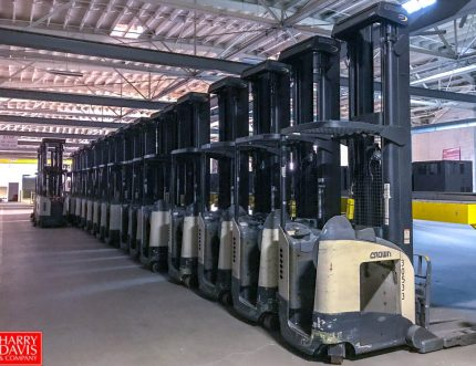 forklift fleet of ralphs grocery stores auction sale